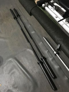 Simpson Fitness Supply olympic barbells