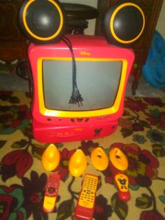 Mickey TV with DVD player