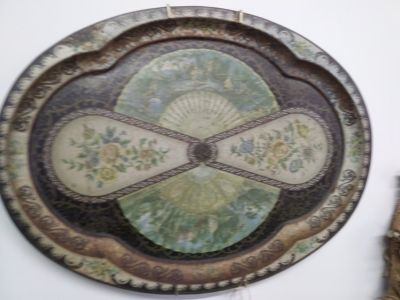 Platter for table or wall decor