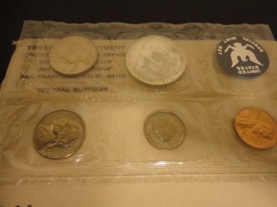 1965 special mint set interested text 931 218 8243