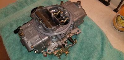GM 572/620 850 Holley mecahnical carburetor w electric choke