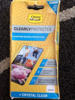 otterbox high-res screen protector iphone 5/5c