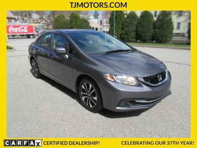 2015 Honda CIVIC SEDAN 4dr  EX (Urban Titanium Metallic)