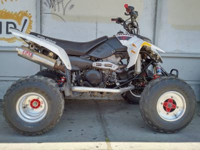 2006 Polaris Predator 500 Troy Lee Edition White Sport ATVs Salinas, CA