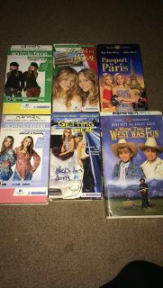 Mary Kate & Ashley VHS tapes