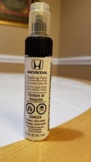 Honda touch up paint Crystal Black Pearl