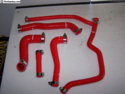 MK1 1.6 Complete Engine Coolant Silicone Hose Kit