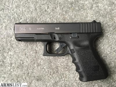 For Sale/Trade: Glock 19 Gen 3