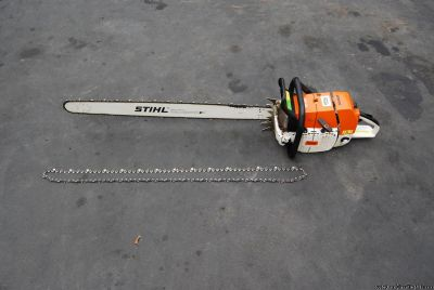 "Stihl MS880 chainsaw 42"" bar and chain MS 880 xtra chain"
