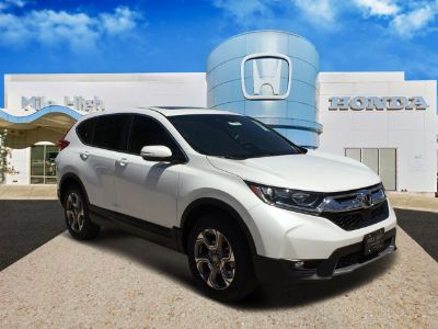 2019 Honda CR-V EX-L (Platinum White)