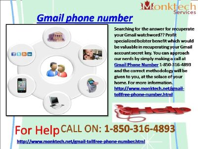 Do You Know About 1-850-316-4893 Gmail Phone Number ?