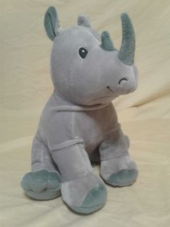 Rhino stuffed animal. Meet in Angleton.