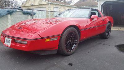 1990 Little Red Corvette