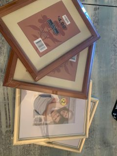 Four 8x10 new frames