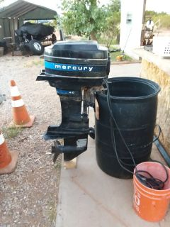 Mercury 40 hp outboard