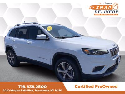 2019 Jeep Cherokee LIMITED 4X4 (Bright White)