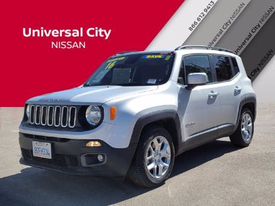 2016 Jeep Renegade Latitude (Glacier Metallic)