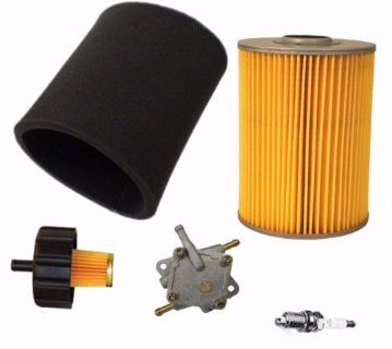 Find YAMAHA G2 G9 G11 4 CYCLE 85-94 GAS GOLF CART TUNE UP KIT AIR FILTER FUEL PUMP motorcycle in Lapeer, Michigan, United States, for US $94.23