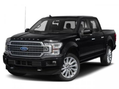 2019 Ford F-150 BLACK LEATHER TRIM SEATS (White Platinum Metallic Tri-Coat)