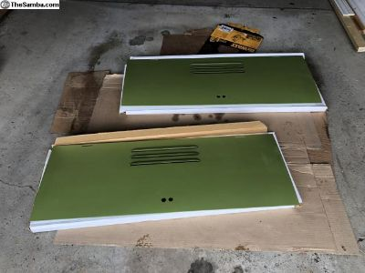 Treasure chest door set for $950 plus shipping