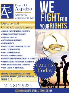 Divorce Attorney, Dallas and Surrounding Cities