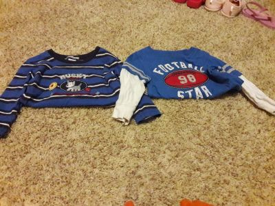 Baby boy 18 month long sleeve shirts