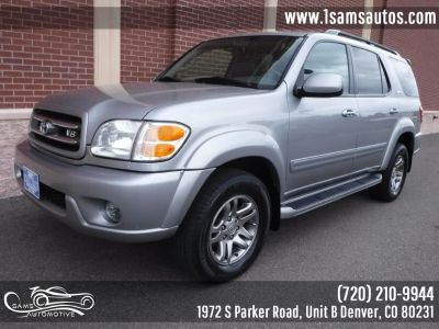 2003 Toyota Sequoia Limited (Silver Sky Metallic)