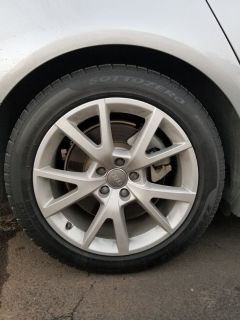 Like new Audi Winter Wheel & Tire Package