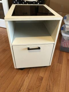 File cabinet on wheels 16 wide, 20 deep, 24 tall