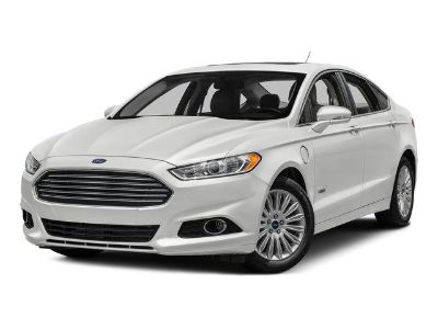 2016 Ford Fusion Energi SE (Oxford White)