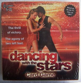 NEW Dancing With The Stars Board Card Game Shake It and Move It