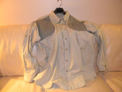 Browning shooting shirt with recoil pad pockets 2XL