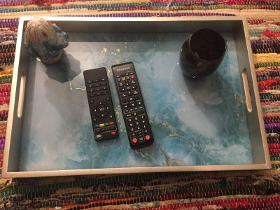 Candle or TV tray