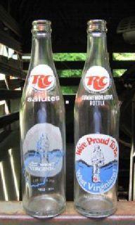 $6 R C commemorative bottle (Charleston, WV)