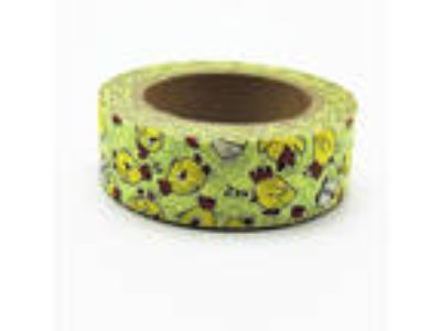 BEAUTIFUL WASHI Paper Tape FUNNY SPRING CHICKENS USA SELLER