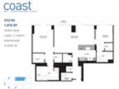 Coast at Lakeshore East - Two BR Penthouse River View: A