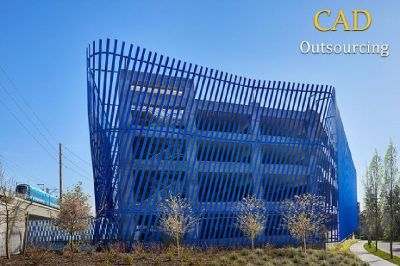 Industrial Architectural Projects - CAD Outsourcing