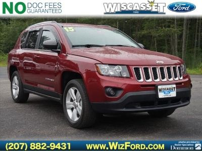 2015 Jeep Compass Sport (Deep Cherry Red Crystal Pearlcoat)