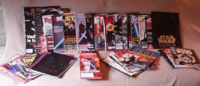 $75 Star Wars Magazines, Programs, Collectables