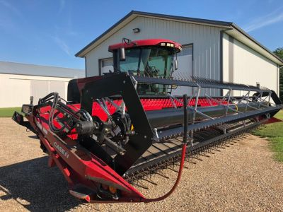 2010 WD 1203. Case IH Swather