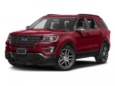 2017 Ford Explorer Sport (Black)