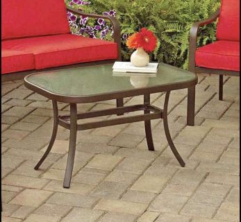 BRAND NEW Outdoor Patio Coffee Table + Table Cover