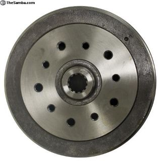 Combo Porsche / Chevy drilled rear drums - NEW!!