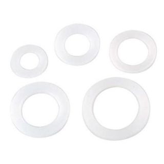 Purchase 617-1097-12-2 - -12 AN HDPE Sealing Washers for Bulkhead Fittings motorcycle in Mount Pleasant, Michigan, United States, for US $2.91