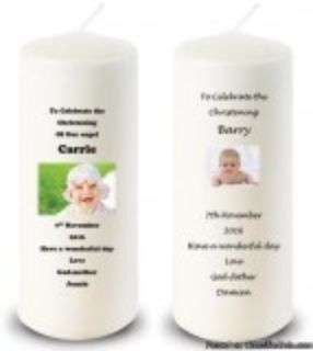 High Quality Chrising Candles - Celticcandles.ie