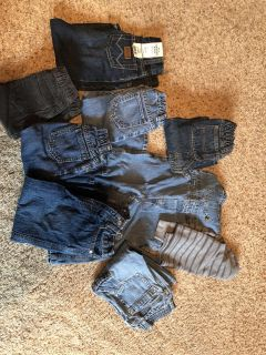 24-2T jeans and one thermal long sleeve