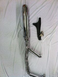 Buy Yamaha 2009-2013 V-Star 950 Complete Stock Exhaust *New Take Off* motorcycle in Coloma, Michigan, US, for US $295.95