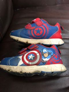 Toddler Size 9 captain America