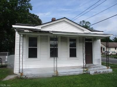2 Bed 1 Bath Foreclosure Property in Portsmouth, VA 23704 - Chestnut St