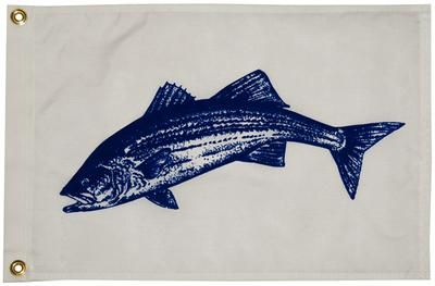 Buy Taylor 2618 FLAG 12X18 NYLON STRIPED BASS motorcycle in Stuart, Florida, US, for US $19.10